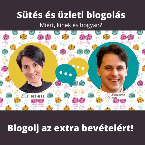 Ne csak süss, blogolj is az extra bevételért! – Beszélgetés Szilágyi Balázzsal